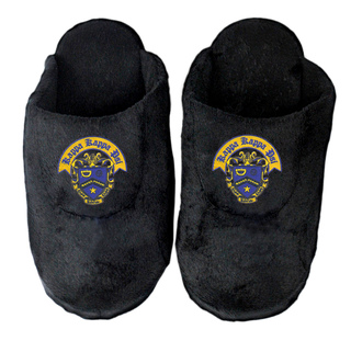 DISCOUNT-Kappa Kappa Psi Black Solid Slipper