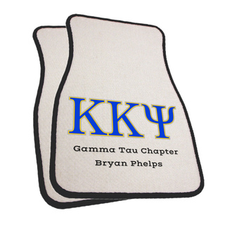 Kappa Kappa Psi Car Mats