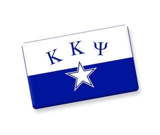 Kappa Kappa Psi Ceramic Flag Magnet