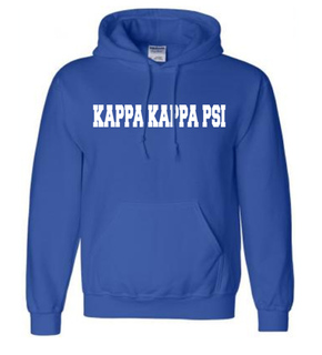 Kappa Kappa Psi college hoodie