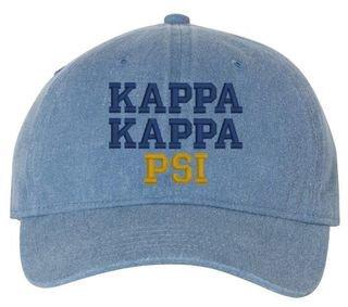Kappa Kappa Psi Pigment Dyed Baseball Cap