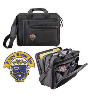 DISCOUNT-Kappa Kappa Psi Crest - Shield Briefcase Attache