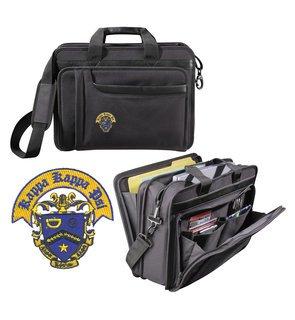 DISCOUNT-Kappa Kappa Psi Crest - Shield Briefcase Attache