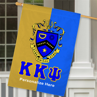 Kappa Kappa Psi Crest House Flag