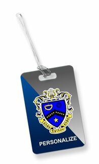 Kappa Kappa Psi Crest - Shield Luggage Tag