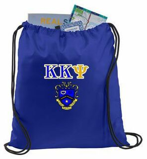 Kappa Kappa Psi Crest - Shield Cinch Sack