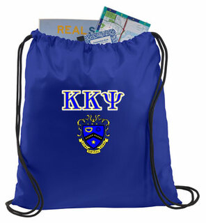 Kappa Kappa Psi Crest - Shield Cinch Sack