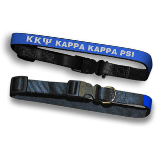 Kappa Kappa Psi Dog Collar