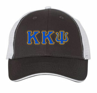 Kappa Kappa Psi Double Greek Trucker Cap