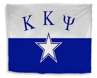 Kappa Kappa Psi Flag Giant Velveteen Blanket