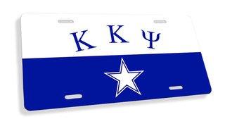 Kappa Kappa Psi Flag License Cover