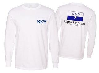 Kappa Kappa Psi Flag Long Sleeve T-shirt