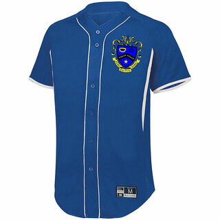 Kappa Kappa Psi Game 7 Full-Button Baseball Jersey