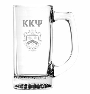 Kappa Kappa Psi Glass Engraved Mug