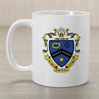 Kappa Kappa Psi Greek Crest Coffee Mug