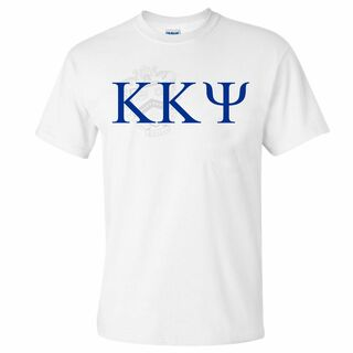Kappa Kappa Psi Greek Crest - Shield T-Shirt