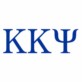 Kappa Kappa Psi Greek Letter Window Sticker Decal