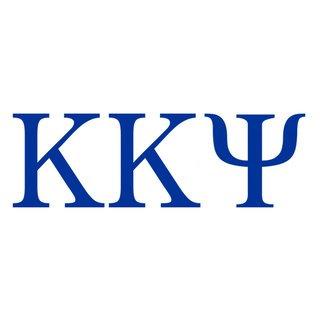 Kappa Kappa Psi Greek Letter Window Sticker Decal