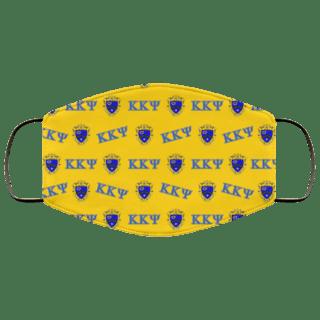Kappa Kappa Psi Letter Crest Face Masks