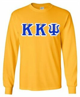 Kappa Kappa Psi Lettered Long Sleeve Shirt