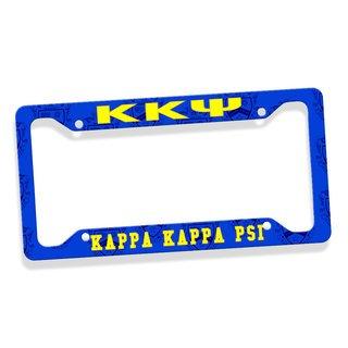 Kappa Kappa Psi Custom License Plate Frame