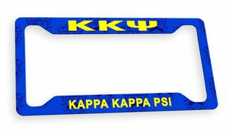 Kappa Kappa Psi Custom License Plate Frame