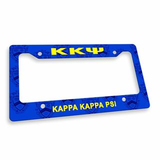 Kappa Kappa Psi License Plate Frame
