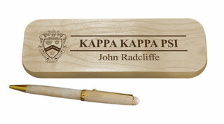 Kappa Kappa Psi Maple Wood Pen Set