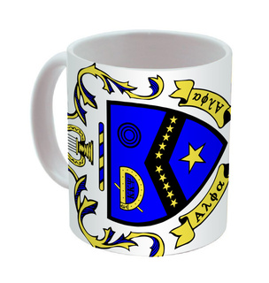 Kappa Kappa Psi Mega Crest - Shield Coffee Mug