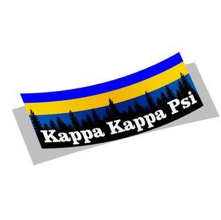 Kappa Kappa Psi Mountain Decal Sticker