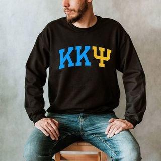 Kappa Kappa Psi Arched Greek Letter Crewneck Sweatshirt