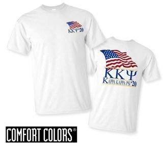 Kappa Kappa Psi Patriot  Limited Edition Tee - Comfort Colors