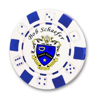 Kappa Kappa Psi Poker Chips