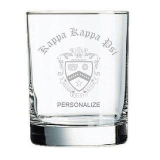 Kappa Kappa Psi Old Style Glass