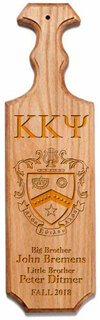 Kappa Kappa Psi Traditional Greek Paddle
