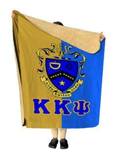 Kappa Kappa Psi Two Tone Two Tone Sherpa Lap Blanket
