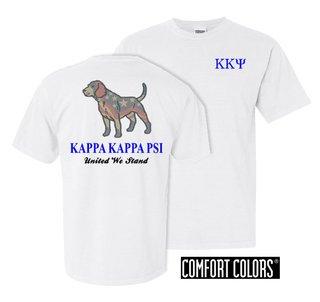 Kappa Kappa Psi United We Stand Comfort Colors T-Shirt