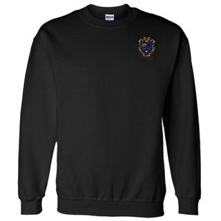 DISCOUNT-Kappa Kappa Psi World Famous Crest - Shield Crewneck Sweatshirt