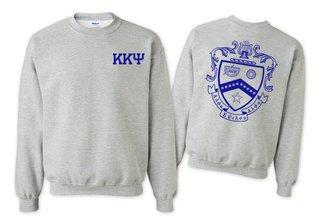 Kappa Kappa Psi World Famous Crest - Shield Printed Crewneck Sweatshirt- $25!