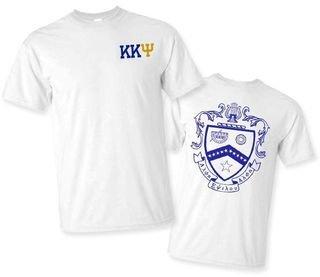 Kappa Kappa Psi World Famous Crest - Shield Tee