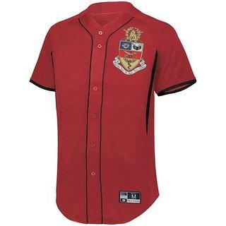 Kappa Psi Game 7 Full-Button Baseball Jersey