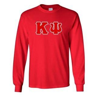 Kappa Psi Lettered Long Sleeve Shirt