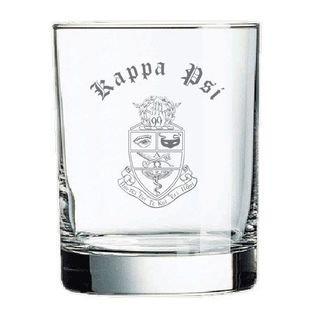 Kappa Psi Old Style Glass