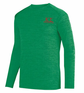 Kappa Sigma- $20 World Famous Dry Fit Tonal Long Sleeve Tee