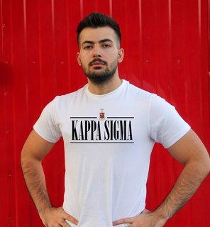 Kappa Sigma Line Crest Tee