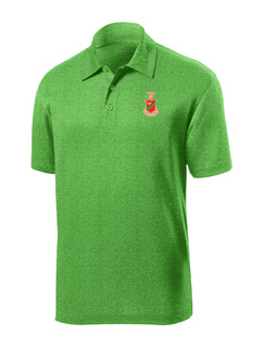 DISCOUNT-Kappa Sigma- World Famous Greek Crest - Shield Contender Polo