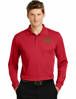 Kappa Sigma- $30 World Famous Long Sleeve Dry Fit Polo