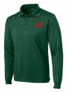Kappa Sigma- $35 World Famous Long Sleeve Dry Fit Polo