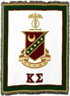 Kappa Sigma Afghan Blanket Throw