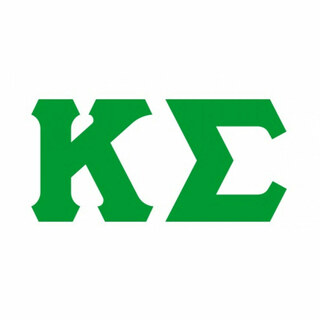 Kappa Sigma Big Greek Letter Window Sticker Decal